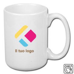 Una grande tazza con personalizzazione 440 ml, Diam 8,2 cm, Alt(h) 10,5 cm